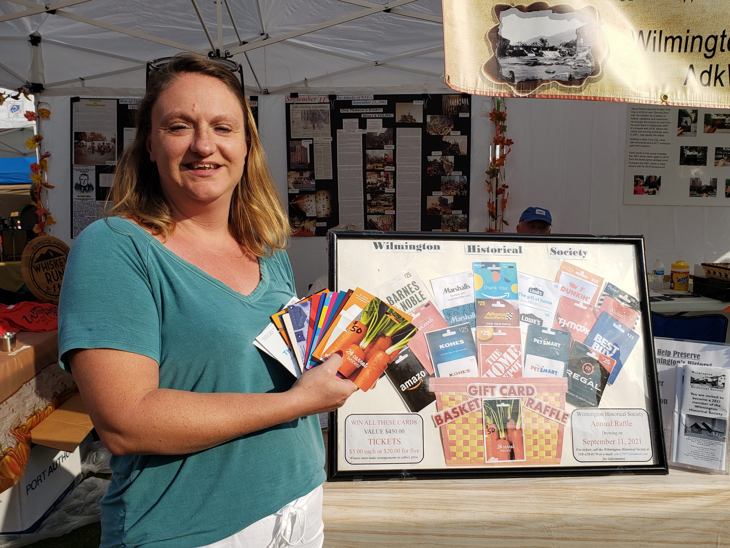 Festival of Colors on September 11th! Winner of the Gift Card Basket Raffle was Jess Ano of Wilmington!