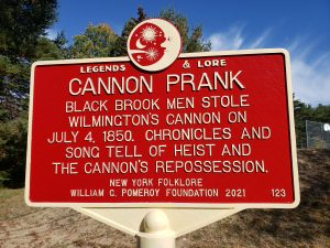 Cannon Prank Sign